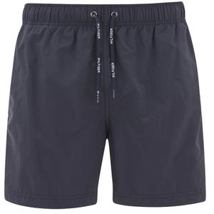 Tommy Hilfiger Men's Solid Swim Shorts - Midnight