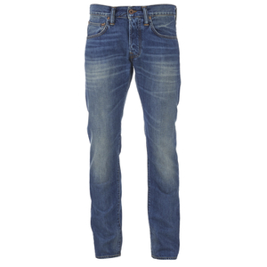Edwin Men's ED55 Relaxed Tapered Denim Jeans - Mid Glint Used