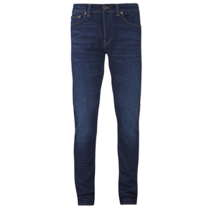 Edwin Men's ED80 Slim Tapered Denim Jeans - Dark Trip Used