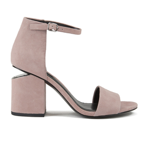 Alexander Wang Women's Abby Suede Heeled Sandals - Sand