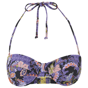 MINKPINK Women's Midnight Bloom Wide Strap Cupped Bikini Top - Multi
