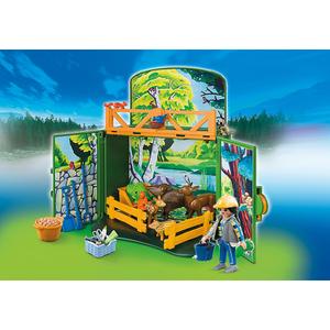 Playmobil My Secret Forest Animals Play Box (6158)