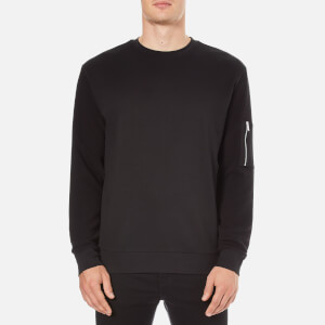HUGO Men's Danremo Crew Neck Sweater - Black