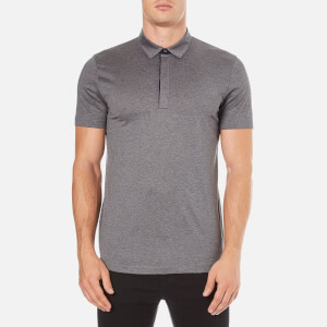 HUGO Men's Dellos Cotton Polo Shirt - Grey