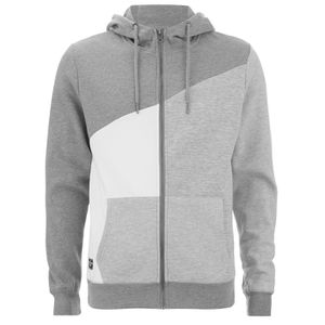 Threadbare Men's Wyoming Zip Through Hoody - Grey