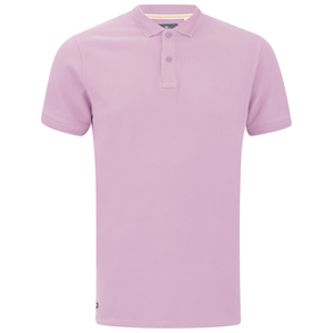 Threadbare Men's Fred Polo Shirt - Pink