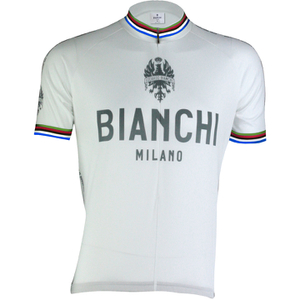 Bianchi Men's Pride Short Sleeve Jersey - White