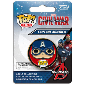 Capitán América: Civil War Captain America Pop! Pin