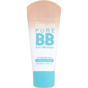 Maybelline Dream Pure BB Cream SPF 15 Medium 30 ml