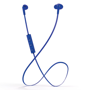 Mixx  Play 1 Bluetooth Sports Earphones Including Mic & In-Line Remote - Blue