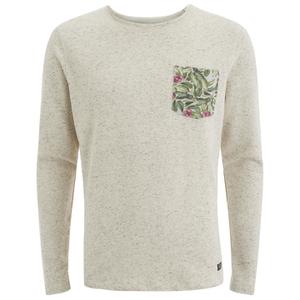 Jack & Jones Men's Originals Boom Pocket Sweatshirt - White