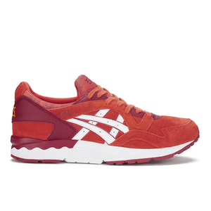 Asics Men's Gel-Lyte V 'Chilli Pepper' Trainers - Chilli/White