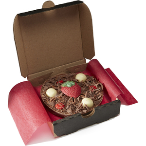 Gourmet Chocolate Pizza Co. Strawberry Sensation Mini Chocolate Pizza