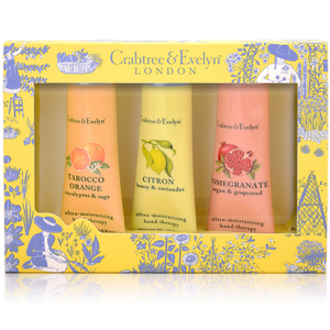 Crabtree & Evelyn Fruits & Botanicals Hand Therapy 3 x 25g
