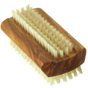 Hydrea London Olive Wood Nail Brush - Large