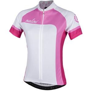 Nalini Women's Campionessa Short Sleeve Jersey - White/Pink