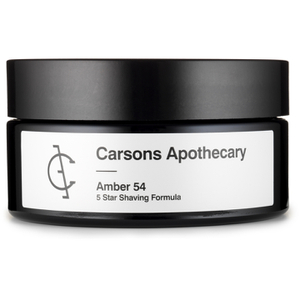 Carsons Apothecary Amber 54 Shaving Cream