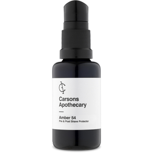 Carsons Apothecary Amber 54 Shaving Oil