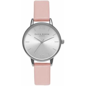 Olivia Burton Women's Midi Dial Watch - Dusty Pink/Silver