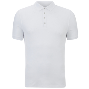 Selected Homme Men's Dawson Polo Shirt - Bright White