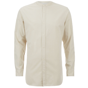 Selected Homme Men's Two Paiden Long Sleeve Shirt - White Pepper