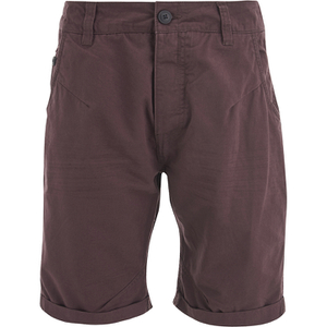 Dissident Men's Buju Chino Shorts - Maroon