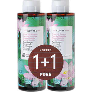 Korres Limited Edition 1 + 1 Water Lily Shower Gel 250ml (Worth £16.00)
