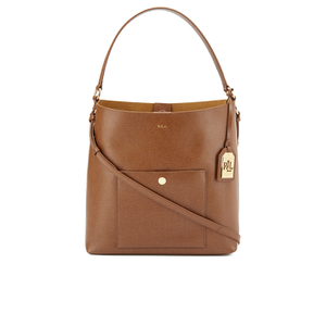 Lauren Ralph Lauren Women's Pocket Hobo Shoulder Bag - Lauren Tan