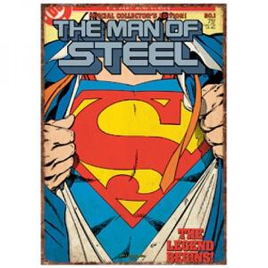 DC Comics Superman Super Suit Large Tin Sign