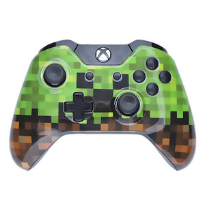 Xbox One Wireless Custom Controller - The Creeper Edition