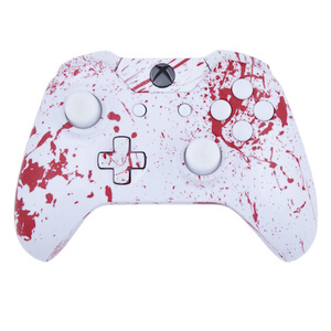Xbox One Wireless Custom Controller - Blood Splatter