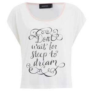 MINKPINK Women's Dreamers Tank Top - White Blush
