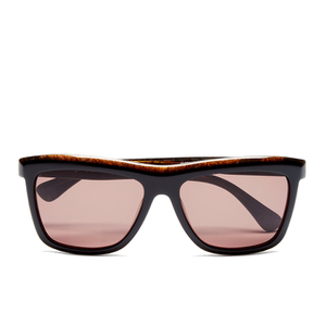 Calvin Klein Women's Platinum Sunglasses - Black Marble