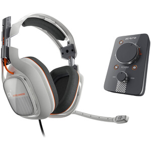 ASTRO A40 Headset + MixAmp Pro - White (PS4/PS3/PC)