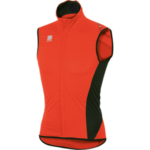 Sportful Fiandre Light NoRain Gilet - Orange/Black