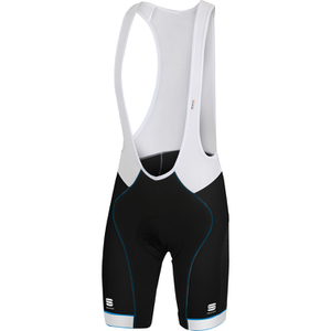 Sportful Giro Bib Shorts - Black/White/Blue