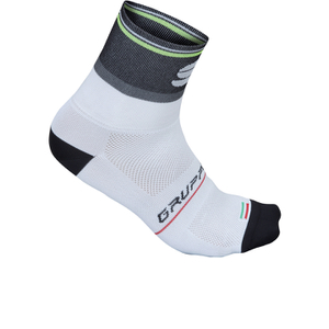 Sportful Gruppetto Pro 12 Socks - White/Black/Grey