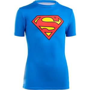 Under Armour Boy's Transform Yourself Superman Baselayer - Blue