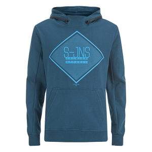 Smith & Jones Men's Cincture Hoody - Majollica Blue