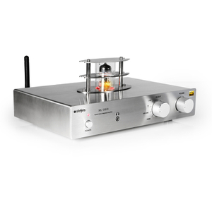 Steljes Audio ML30HD Hybrid Vacuum Valve Amplifier (2x 30W Output) - Silver