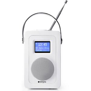 Steljes Audio SA20 Bluetooth Portable Radio (DAB/DAB+/FM) - Matte White