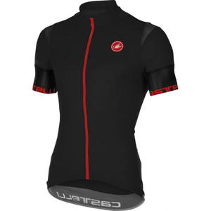 Castelli Entrata 2 Short Sleeve Jersey - Black