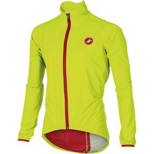 Castelli Riparo Rain Jacket - Yellow