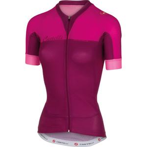 Castelli Women's Aero Race Short Sleeve Jersey - Pink