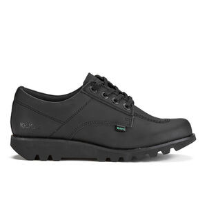 Kickers Men's Kick Lo C Lace Up Shoes - Black