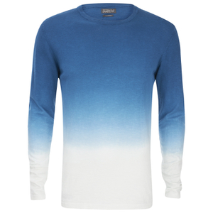 Jack & Jones Men's Originals Dyed Knitted Crew Neck Jumper - Poseidon