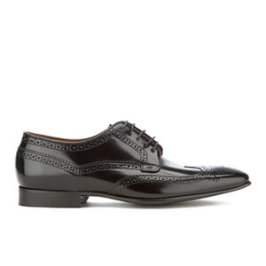 PS by Paul Smith Men's Aldrich High Shine Leather Brogues - Black