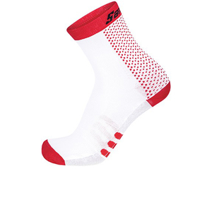 Santini Two Medium Profile Socks - Red