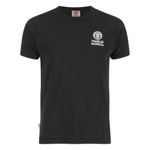 Franklin & Marshall Men's Small Logo T-Shirt - Black