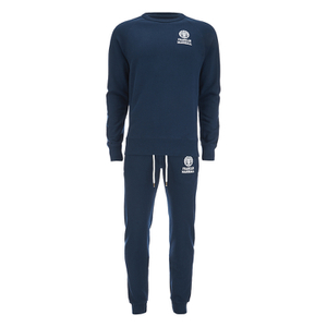 Franklin & Marshall Crew Neck Sweatshirt Tracksuit - Navy